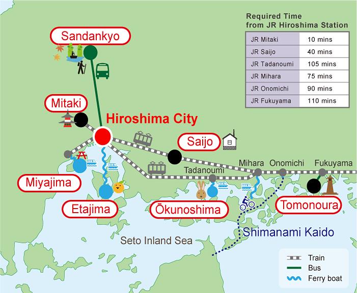 Hiroshima Optional Tours